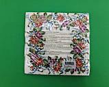 Красивая салфетка (ЗЗхЗЗ, 20шт)  La Fleur  Цветочный венок (1 пач), фото 4