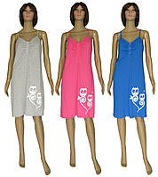 NEW! Молодіжні яскраві нічні сорочки - серія 21019 Совушки котон ТМ УКРТРИКОТАЖ!