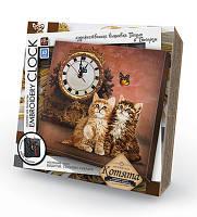 "Комплект для творчества Dankotoys  ""Embroidery clock"""