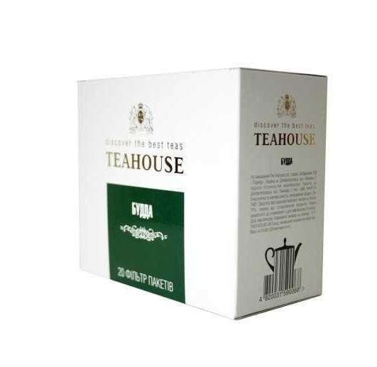 Чай Teahouse (Тиахаус) Будда пакетированный 20*4г (Tea Teahouse Buddha packed 20*4г)