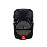 Аудіо система портативна бездротова bluetooth колонка HS-008BT, фото 5