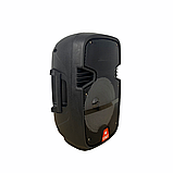 Аудіо система портативна бездротова bluetooth колонка HS-008BT, фото 3