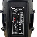Аудіо система портативна бездротова bluetooth колонка HS-008BT, фото 8