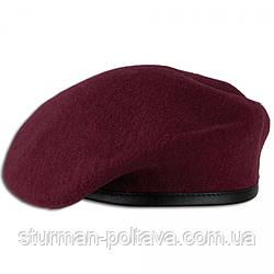 Бере чоловічий армійський вовняної безшовний ДШВ колір Марун виробник - MFH Німеччина