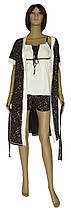 Пижама и халат 20016 Modern коттон Молочно-коричневый