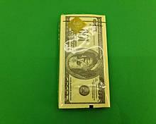 Красивая салфетка (ЗЗхЗЗ, 10шт) Luxy MINI Доллар (2037) (1 пач)