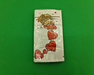 Красивая салфетка (ЗЗхЗЗ, 10шт) Luxy MINI Влюбленный ежик (2032) (1 пач)