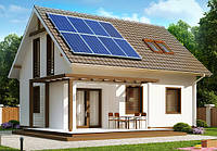 Сетевая солнечная электростанция ALTEK 10 кВт под Зеленый тариф