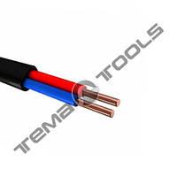 Силовой медный кабель ВВГ-П нг 2x1.0 мм²
