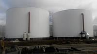 Резервуар вертикальный стальной РВС-100 м³ м.куб для ГСМ с монтажом, изготовление емкостей и резервуаров
