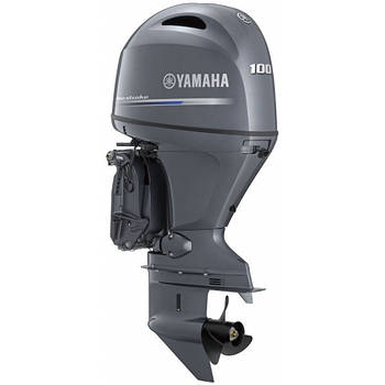 Лодочный мотор Yamaha F100FETL(LB)  -  подвесной мотор для яхт и рыбацких лодок