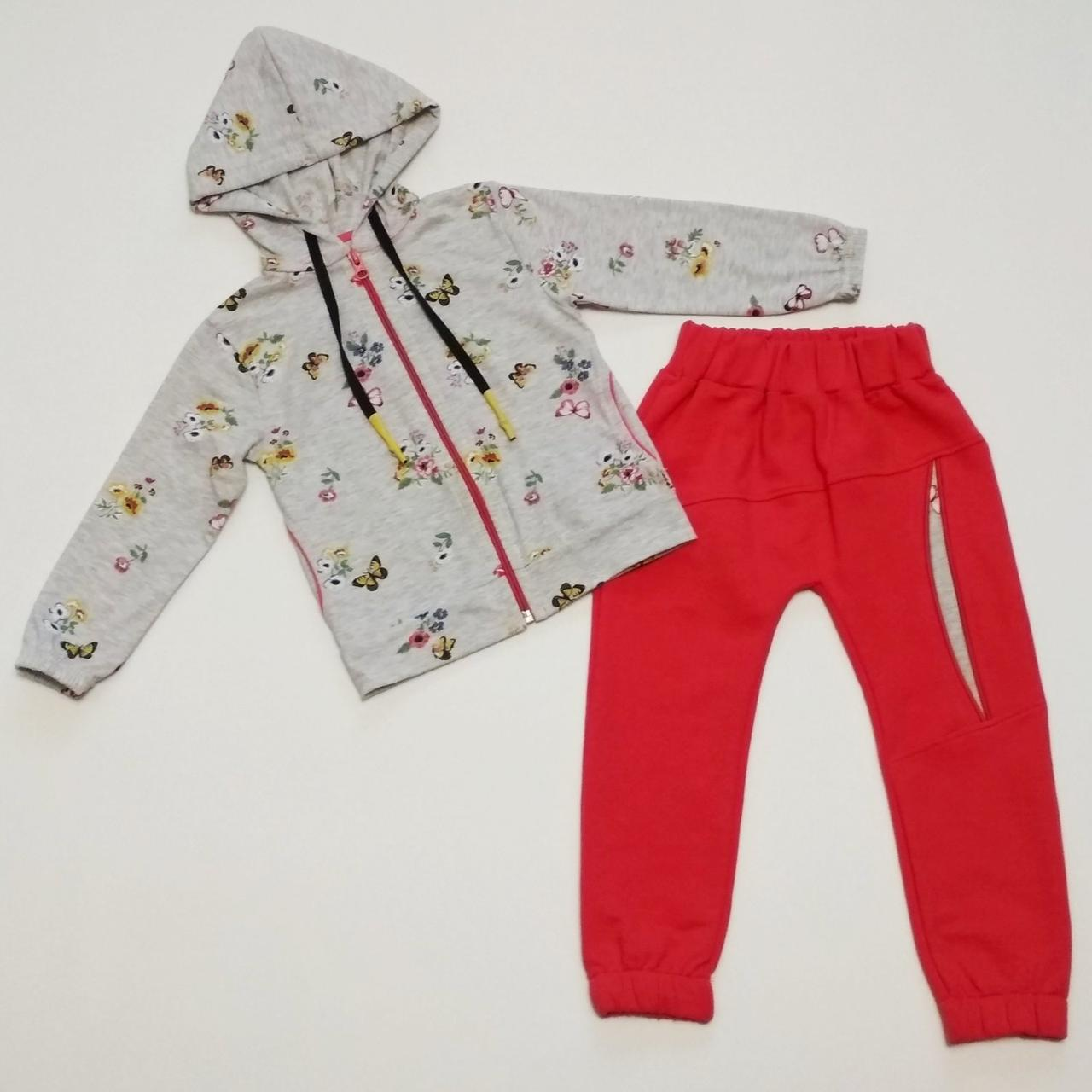 Спортивний костюм для дівчинки 2-4 років
