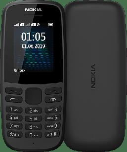 Мобильный телефон Nokia 105 TA-1174 Dual Sim 2019 Black
