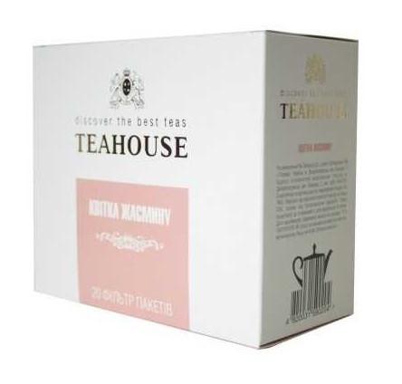 Чай Teahouse (Тиахаус) Цветок жасмина пакетированный 20*4г (Tea Teahouse Jasmine flower packed 20*4г)