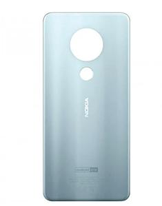 Задняя Панель Корпуса (Крышка) для Nokia 7.2 Dual Sim (TA-1196) (Серебряная) Оригинал