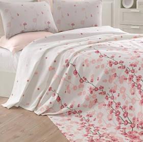 Покрывало пике Eponj Home - Coretta a.pembe розовый вафельное 200*235