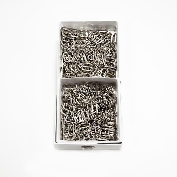 Регулятор вісімка срібло метал, 1.2 см