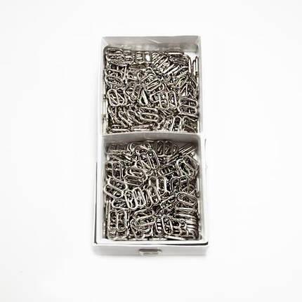 Регулятор вісімка срібло метал, 1.2 см, фото 2