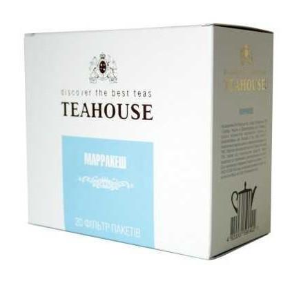 Чай Teahouse (Тиахаус) Марракеш пакетированный 20*5г (Tea Teahouse Marrakesh packed 20*5г)