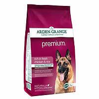 Arden Grange Adult Premium chicken/rice Корм сухой для взрослых привередливых собак 2 кг