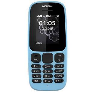 Мобильный телефон Nokia 105 TA-1203 Single Sim 2019 Blue