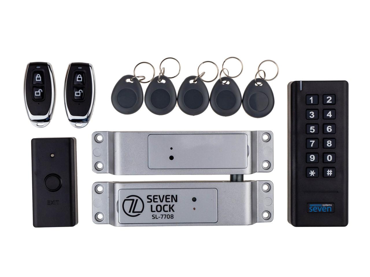 Беспроводной комплект контроля доступа SEVEN LOCK SL-7708r