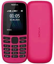 Мобильный телефон Nokia 105 TA-1203 Single Sim 2019 Pink