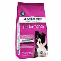 Arden Grange Adult Performans chicken/rice Корм сухой для взрослых активных собак 2 кг