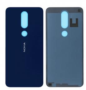 Задняя Панель Корпуса (Крышка) для Nokia 8.1 Dual Sim (TA-1119)   X7 (Синяя) Оригинал