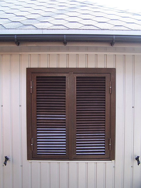 Ставні металеві. Захист вікон та дверей.