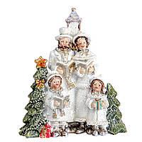Новорічна статуетка (фігурка) Різдвяні піснеспіви 8см Декор і прикраса для дому