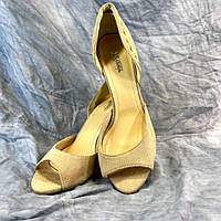 Жіночі туфлі літні текстильні MP 952164-4А чорні 37