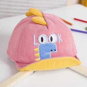 Кепка Look розовая 4003