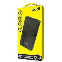Budi Pocket Power Bank Double USB 10000 mAh, M8J095-BLK