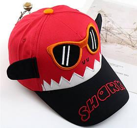 Кепка Shark красная 4097