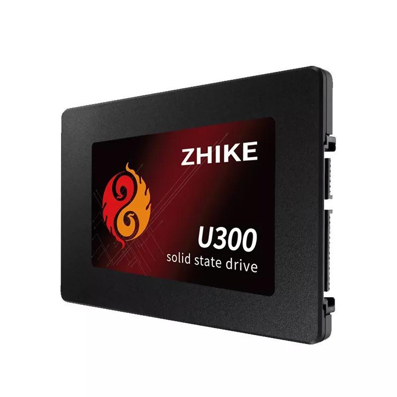 Флеш-накопичувач ZHIKE U300 120 ГБ SSD 2,5 дюймів SATA III твердотільний диск вбудованою пам'яттю