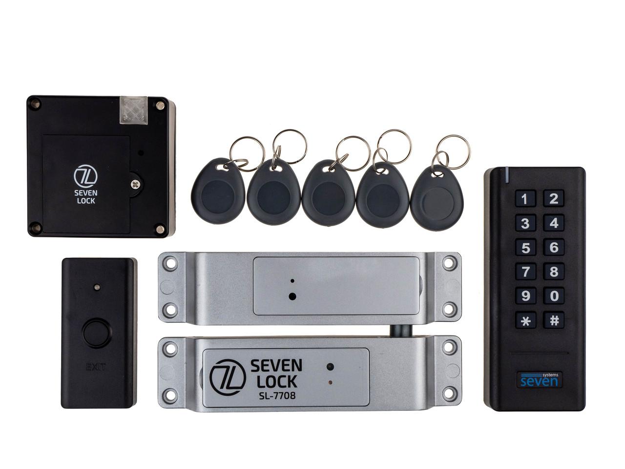 Беспроводной комплект контроля доступа SEVEN LOCK SL-7708b