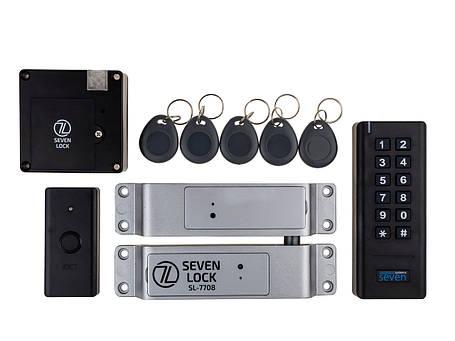 Беспроводной комплект контроля доступа SEVEN LOCK SL-7708b, фото 2