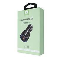 WUW Car Charger, Qualcomm 3.0,2 USB, C100