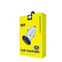 WUW Mini Mushroom Car Charger, Qualcomm 3.0, C96