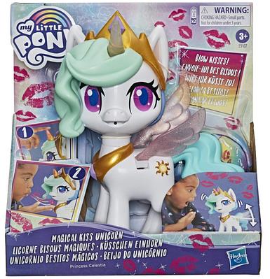 Интерактивный пони my little pony magical kiss unicorn princess celestia