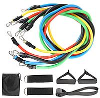 Эспандер-резинки для фитнеса JT-003 Resistance Bands (комплект) | Резинка для фитнеса