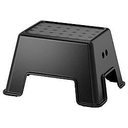Табурет-лестница детская IKEA BOLMEN черный 505.081.81