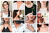 Женский кулон подвеска, камушек фианит в обрамлении из серебра 925 пробы Оникс на ювелирной леске., фото 5