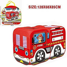 Дитячий ігровий намет автобус M5783 поліція/пожежна служба (Червоний)