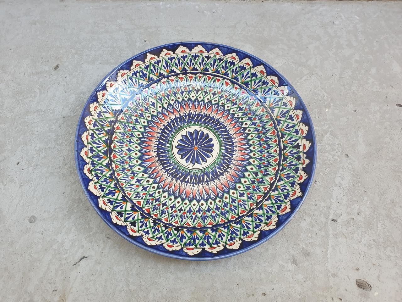 Ляган блюдо узбекское риштан 42см