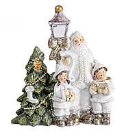 Новорічна статуетка (фігурка) Різдвяні свята 9см Декор і прикраса для дому