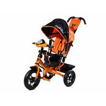 Велосипед Детский Трехколесный велосипед LambaRgini 2 обновленный оранжевый