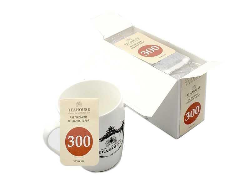 Чай Teahouse (Тіахаус) Англійський сніданок пакетований 20*3г (Tea Teahouse English breakfast packed 20*3г)
