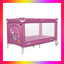Детский игровой манеж-кровать Carello Piccolo (Каррелло Пікколо) CRL-9203/1 Orchid Purple фиолетовый